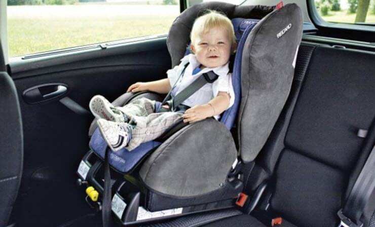 правила перевозки детей до года в автомобиле