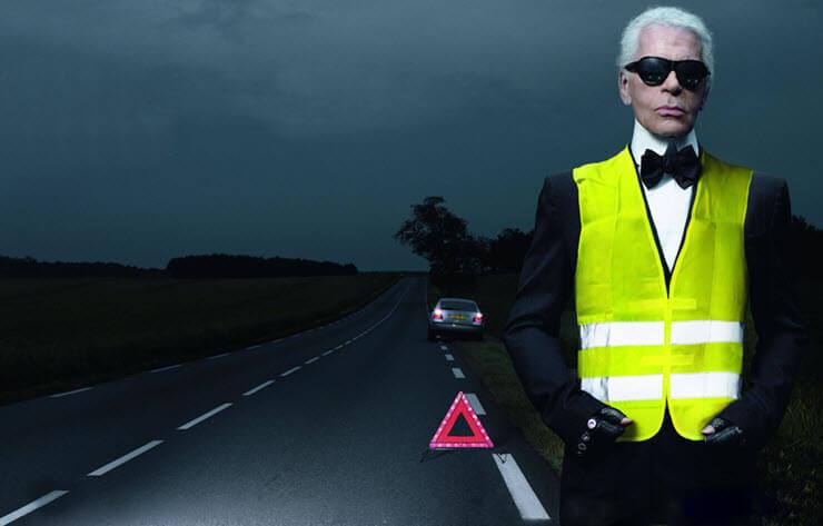 Светоотражающие жилеты для водителей: суть закона