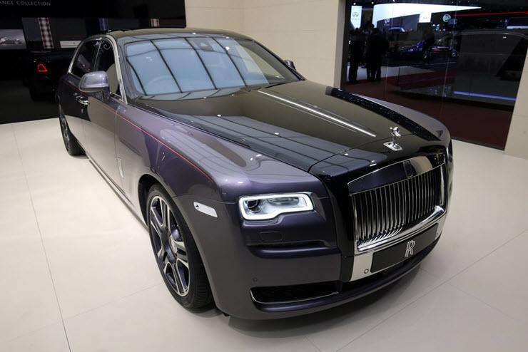 Rolls-Royce Ghost с бриллиантами