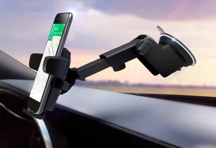 держатель для телефона в авто на стекло