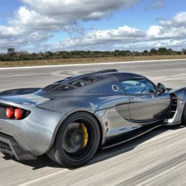 Какая машина самая быстрая в мире