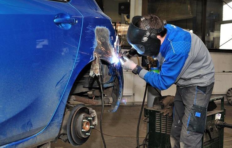 ремонт автомобиля своими руками покраска