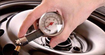 Какое давление должно быть в автомобильных шинах