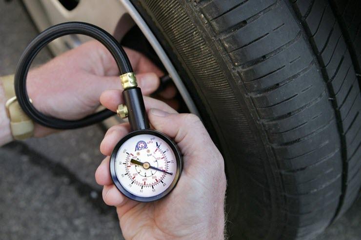 Какое должно быть давление в шинах