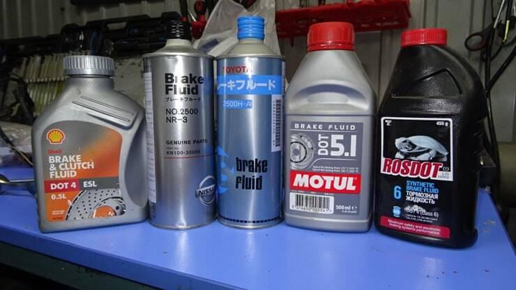 как выбрать тормозную жидкость для автомобиля