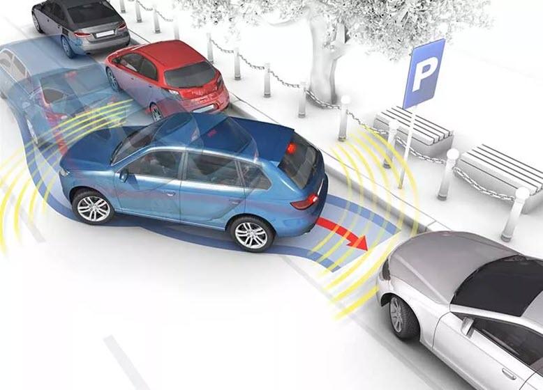 Схема параллельной парковки задним ходом