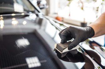 Нанесение жидкого стекла на автомобиль
