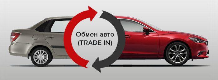 обмен авто по системе трейд ин