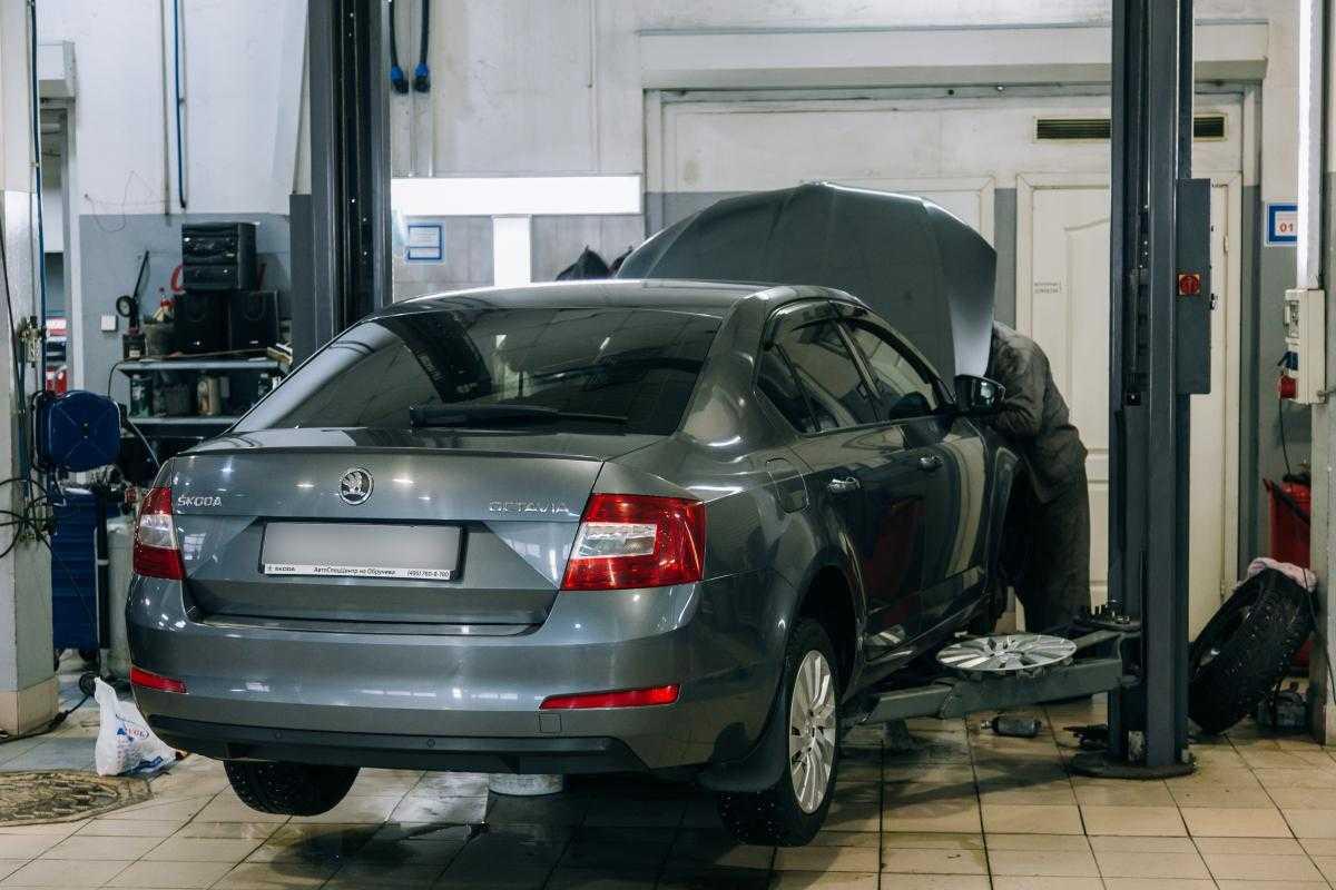 Техническое обслуживание автомобиля на автосервисе Skoda